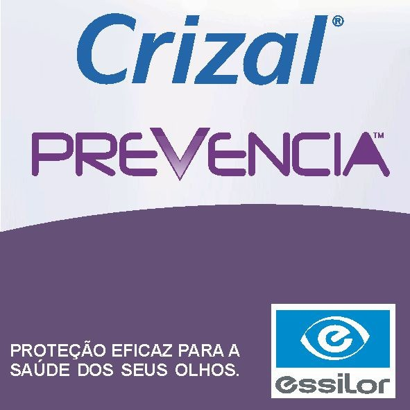 7bbd63a5f500b Lente Crizal Prevencia (luz Azul) Com Transitions - R  961,90 em ...