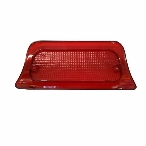 lente da lanterna luz freio teto brake light s10 break black