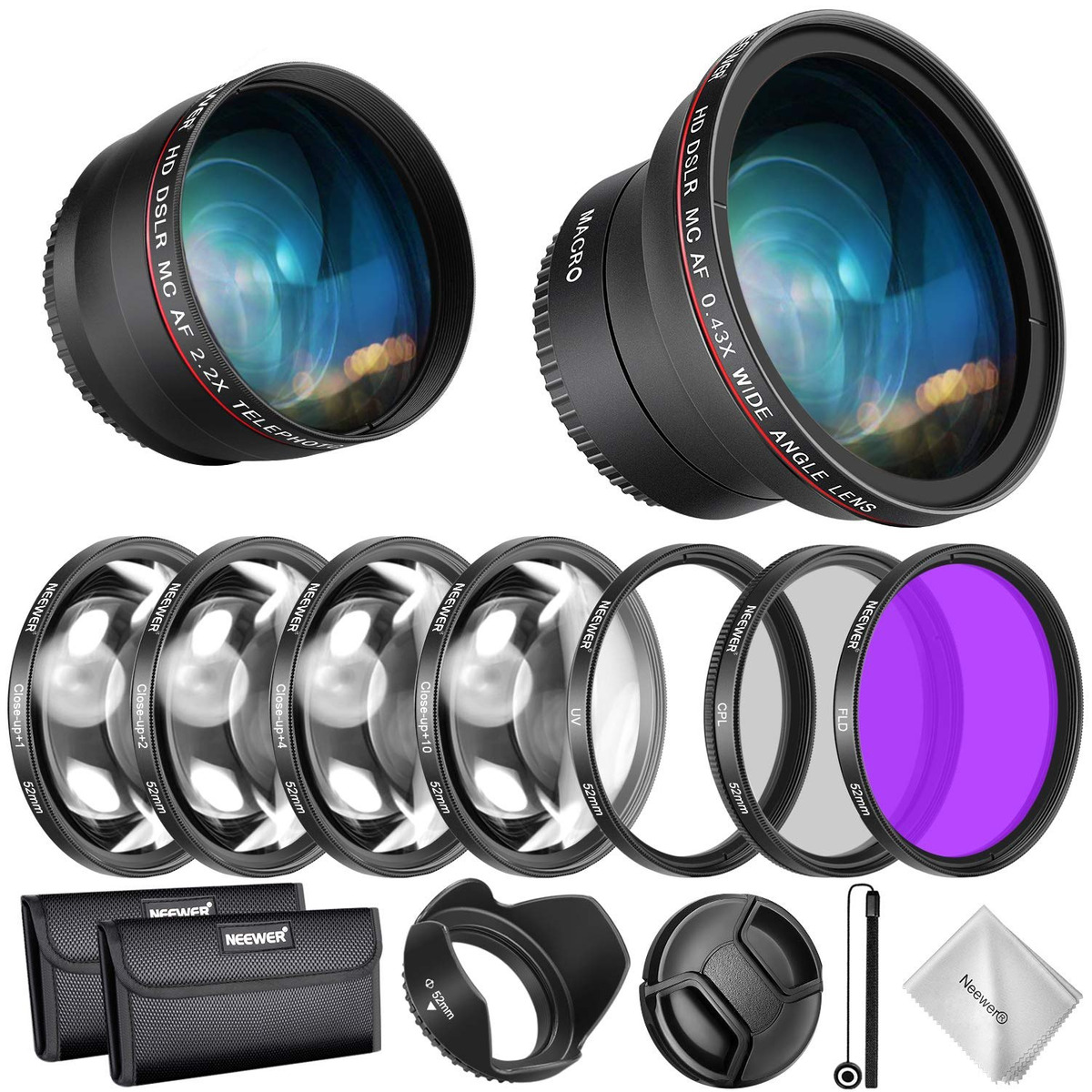 28mm f//3.5 Macro IS STM M Lente Capucha de reemplazo de lente ES-22 para Canon EF