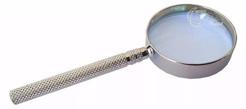 lente de aumento intex com armação cromada 50cc