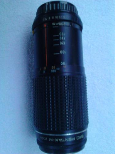 lente de camara asahi pentax-m zoom 1:4.5 80mm - 200mm