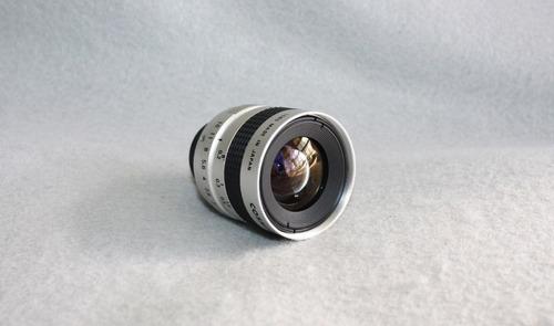 lente de camara cctv o vtr s-8.5mm 1:1.5 (circuito cerrado)