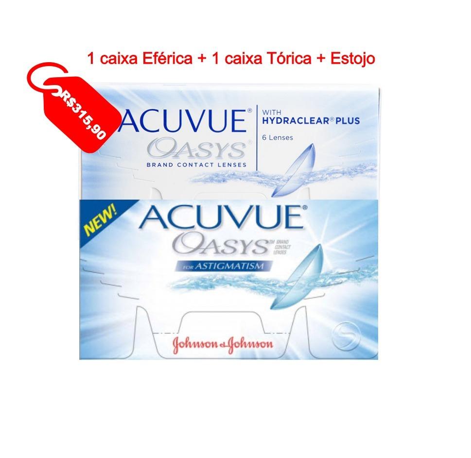 Lente De Contato 1 P Astigmatismo 1 Esferica - R  274,00 em Mercado ... c2d6c37d4f