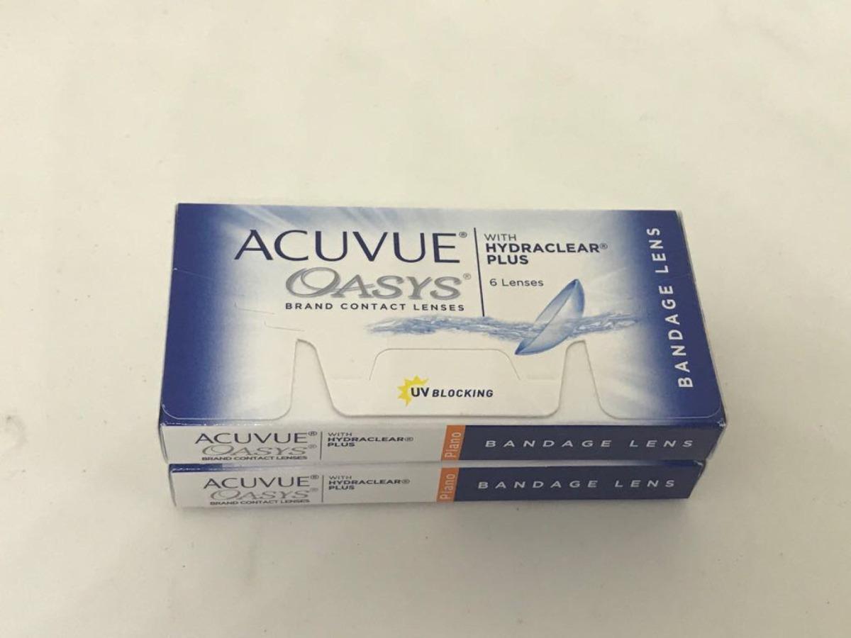 Lente De Contato Acuvue Oasys +0.00 Bandagem - R  121,33 em Mercado ... f79fcaf5ea