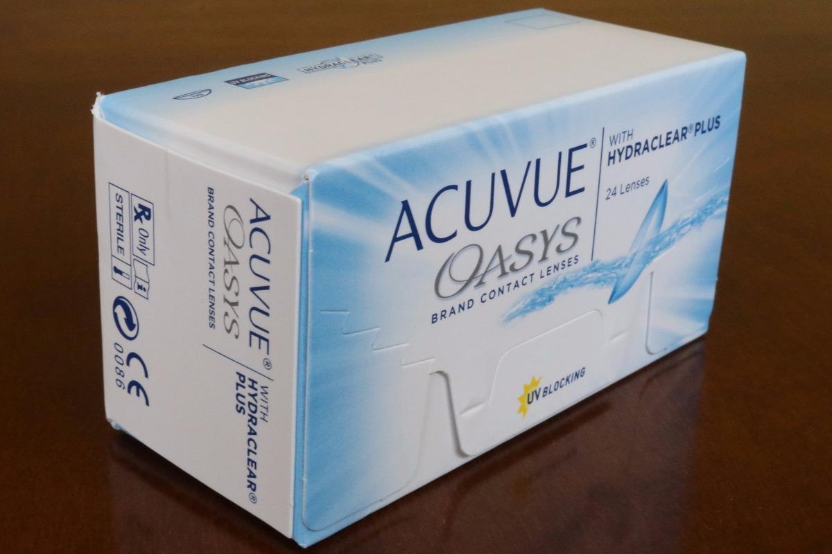 20596069be64f Lente De Contato Acuvue Oasys - 12 Pares - R  340,00 em Mercado Livre