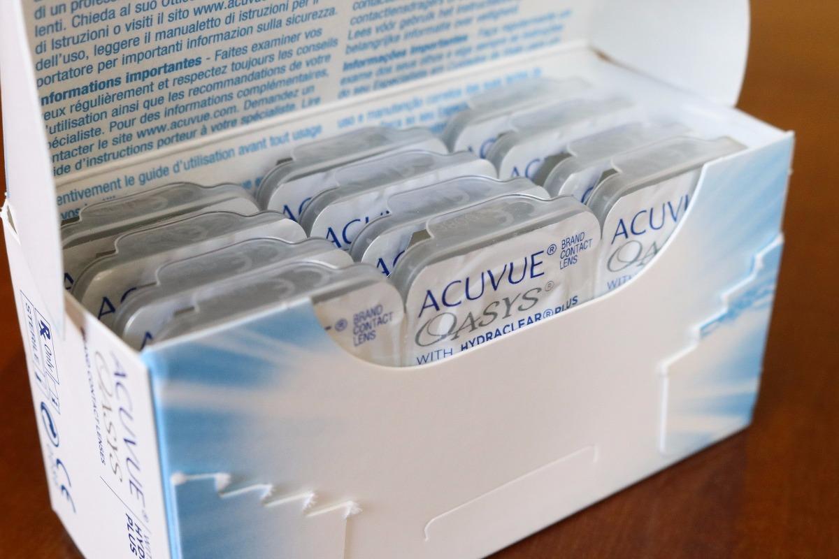 Lente De Contato Acuvue Oasys - 6 Pares - R  185,00 em Mercado Livre 3abe356814