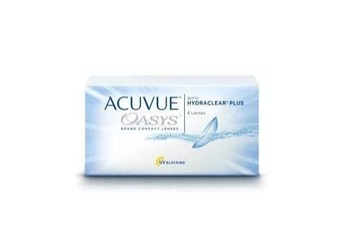 Lente De Contato Acuvue Oasys - Johnson Bc 8.4 Miopia -5.50 - R  103 ... f42f0ac186