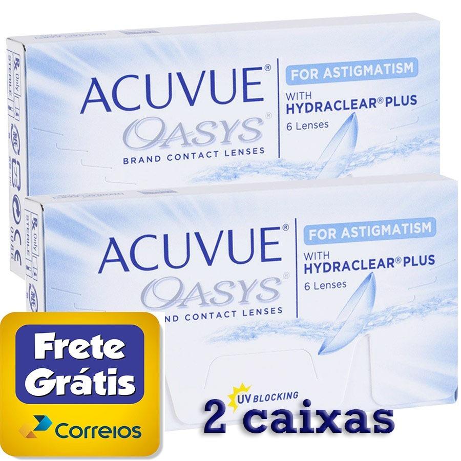 e72af763885ca lente de contato acuvue oasys para astigmatismo 2 caixas. Carregando zoom.