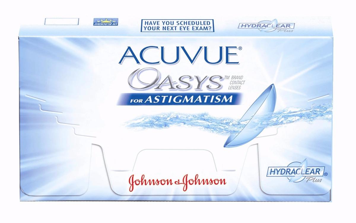 39558f64e1b62 lente de contato acuvue oasys para astigmatismo 3 pares. Carregando zoom.