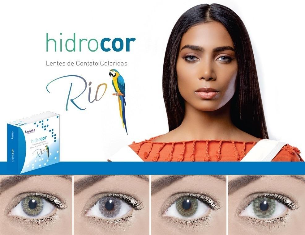 258176e634 Lente De Contato Anual / Hidrocor Rio Sem Borda / Solótica - R$ 139 ...