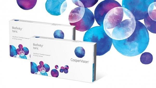 71634bab9c Lente De Contato - Biofinity Toric - R$ 245,00 em Mercado Livre