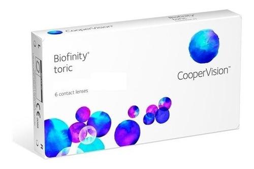 lente de contato biofinity toric - coopervision astigmatismo