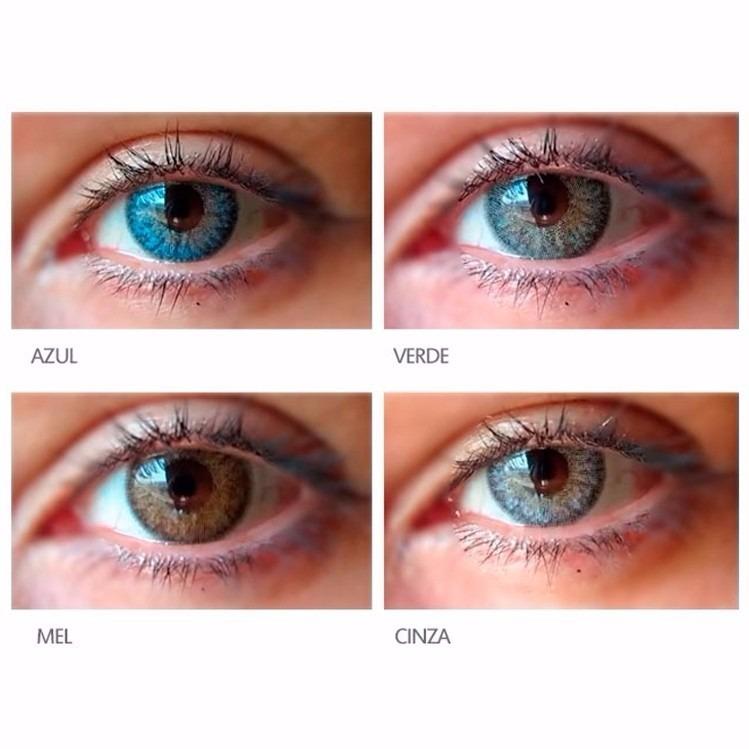 Lente De Contato Color Vision, Azul, Verde, Cinza, Mel - R  79,99 em  Mercado Livre cf1f41b33e
