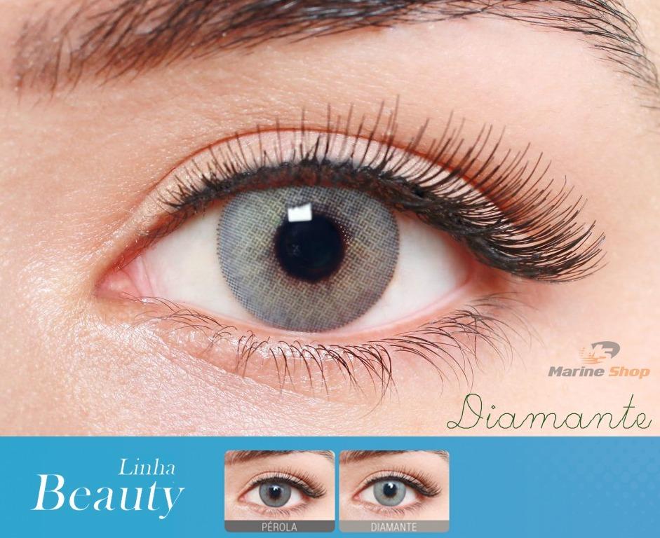 73403e6015511 lente de contato colorida anual beauty natural vision 1 par. Carregando zoom .