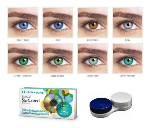 lente de contato colorida colors verde, azul, mel, cinza e +