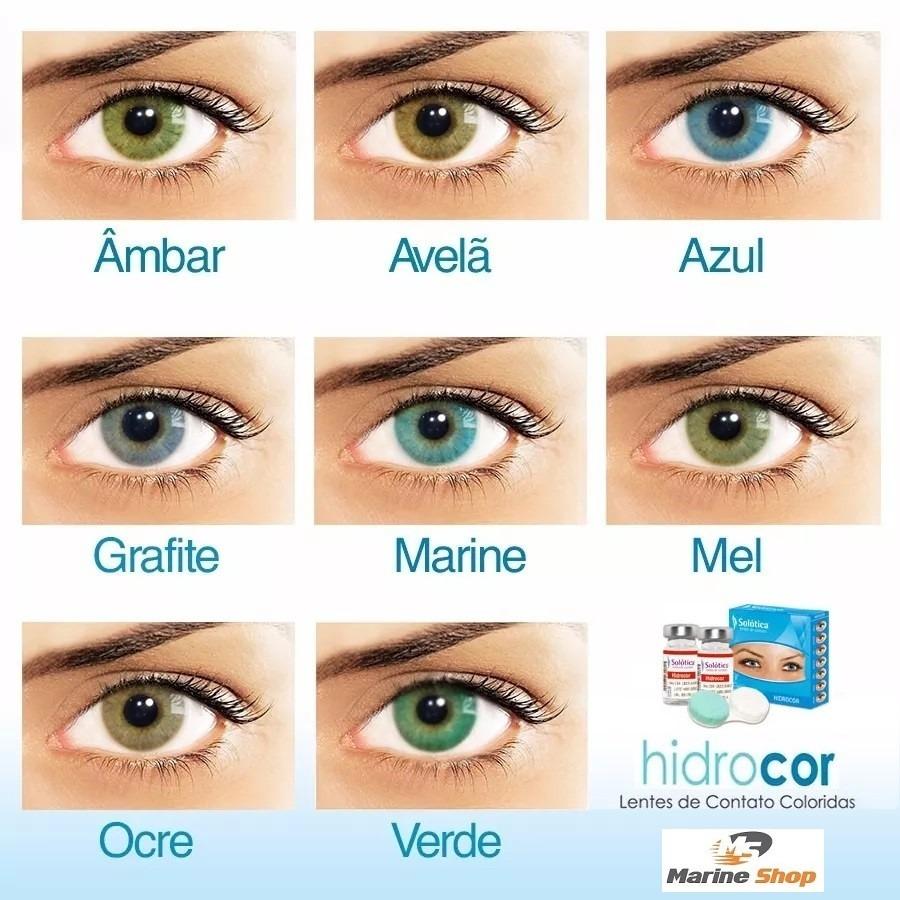 b6fa63b2831e8 lente de contato colorida hidrocor sem borda anual  sem grau. Carregando  zoom.