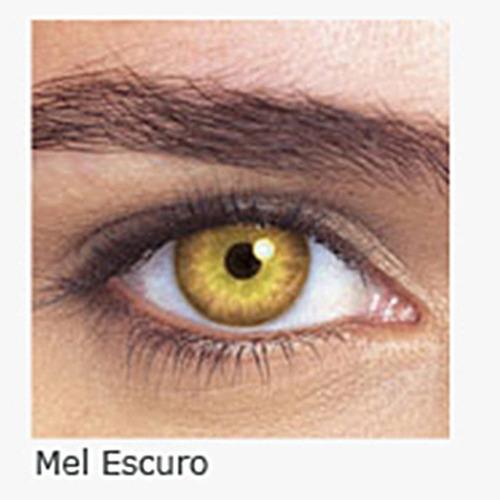 lente de contato colorida  mensal star colors ii com grau