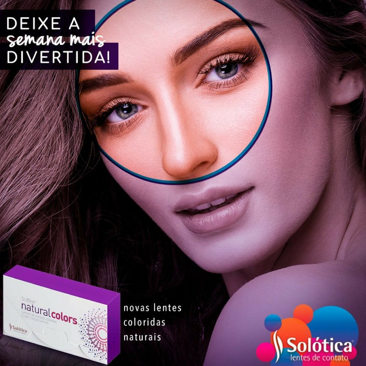 9bce824daa1b2 lente de contato colorida natural colors mensal promoção. Carregando zoom.