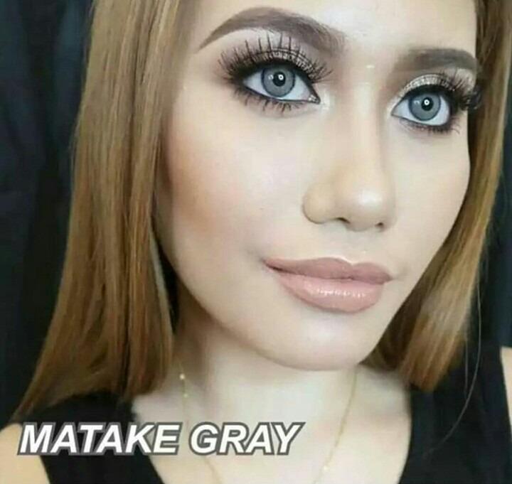 Lente De Contato Dream Color Matake Gray Pronta Entrega - R  120,00 ... 2ba1093ebd