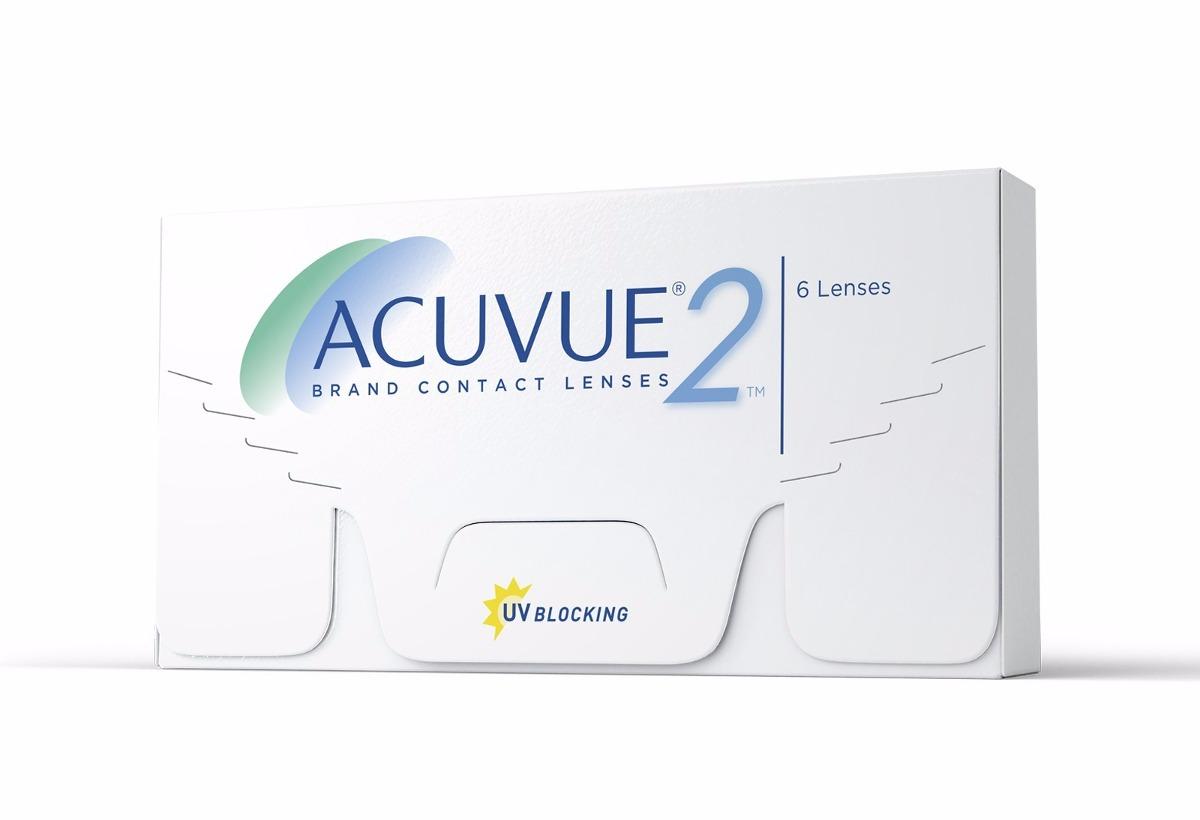 Lente De Contato Johnson Acuvue 2 - Com Grau Miopia -1.25 - R  90 7bae38aa56f0