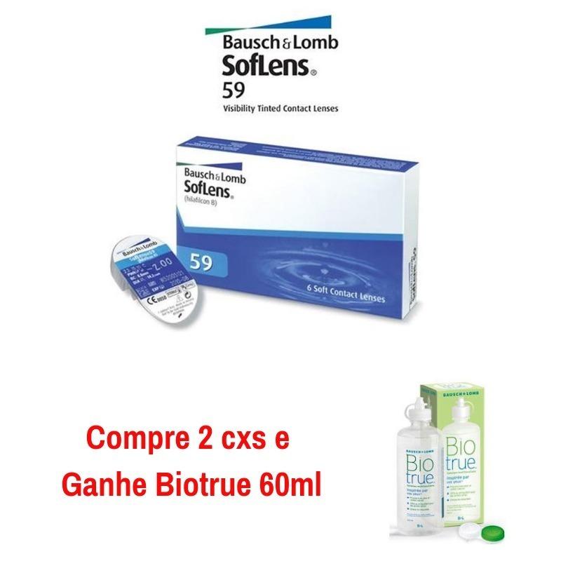 Lente De Contato Soflens 59 Bausch C 3 Pares Por Caixa - R  79,99 em ... b2fa890de9