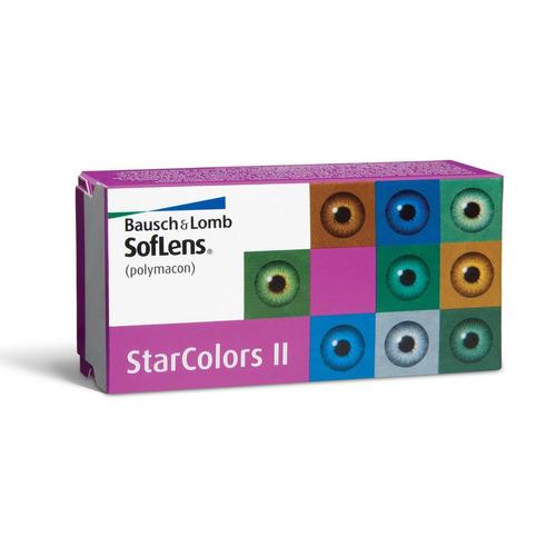 lente de contato star colors bausch lomb + solução biotrue