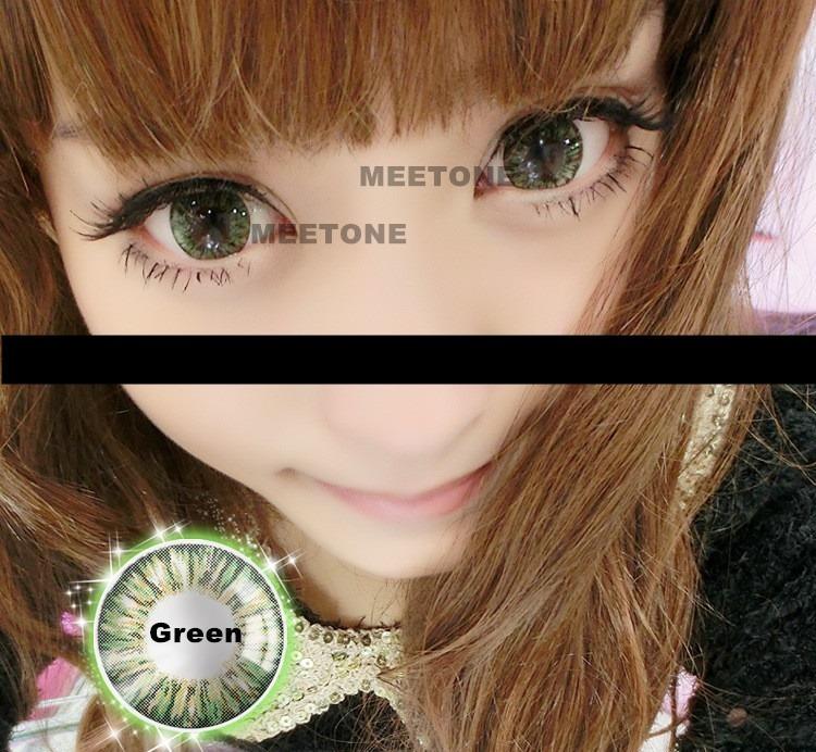 Lente De Contato Verde Circle Lens Vivian Green No Brasil - R  65,00 ... 85c4aa5b9e