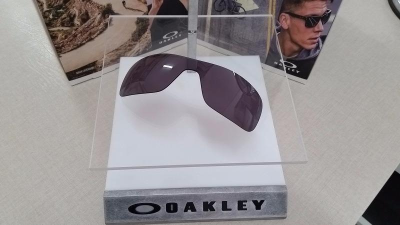 05b23ffc55a7b lente de óculos oakley turbine rotor warm grey original. Carregando zoom.