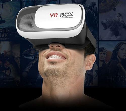 lente de realidad virtual vr box version 2.0 + control