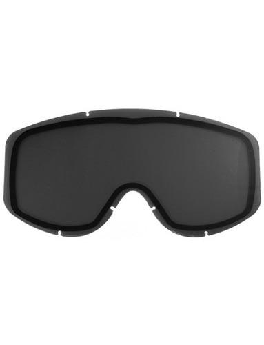 lente de repuesto p/gafas de nieve castle eyewear stage humo
