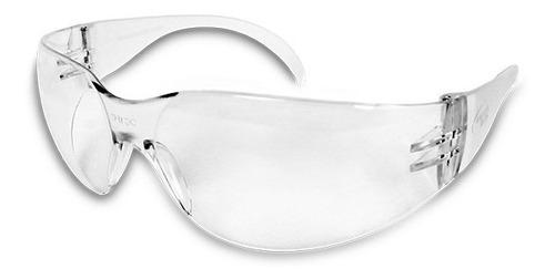 lente de seguridad steel claro derma care al-012-cl