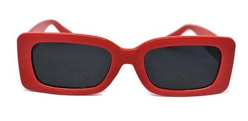 lente de sol de pasta color rojo, glasses g3, pop8340