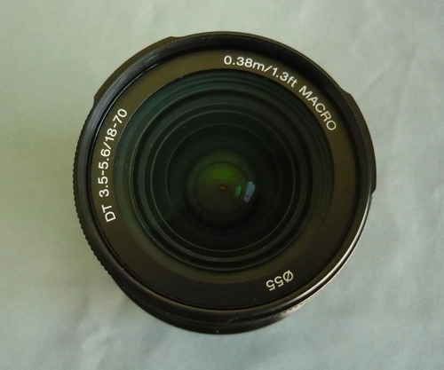 lente digital  sony 18-70mm