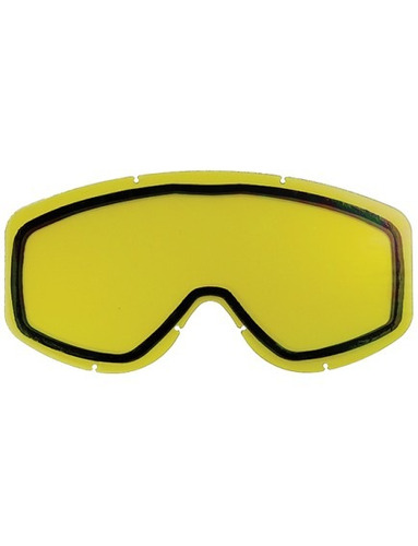 lente d/repuesto p/gafas d/nieve castle eyewear riot amarill