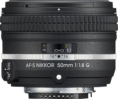 lente edición especial nikon, af-s nikkor 50mm f/1.8g,