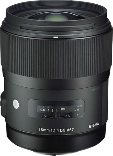 lente estándar para canon sigma, 35mm f/1.4 dg hsm, color