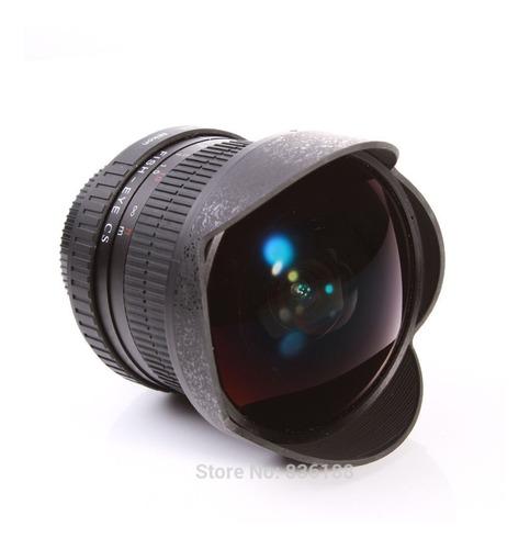 lente fish eye angular - ojo de pez 8mm f/3.5 fix para canon