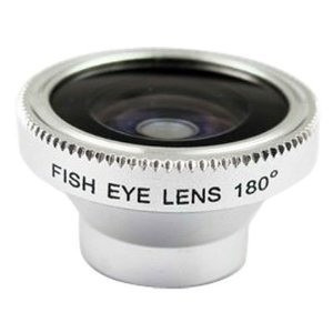 lente fisheye olho de peixe iphone galaxy ipad 180º selfie