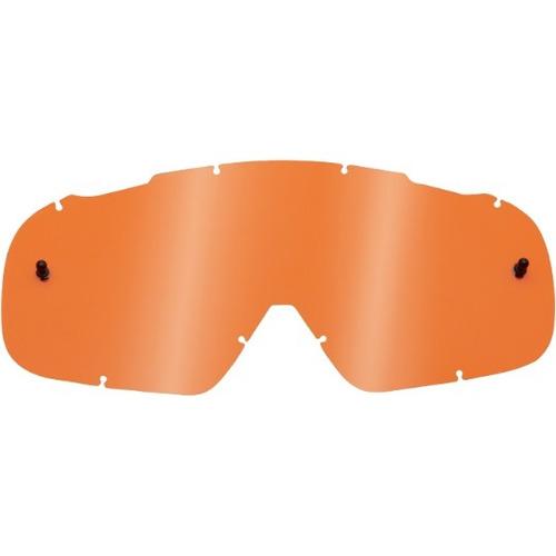 lente fox racing airspc lexan juvenil antiemp. rep. naranja
