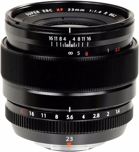 lente fuji fujifilm xf 23mm f/1.4 r p/ x-e2 x-t1 x-t10