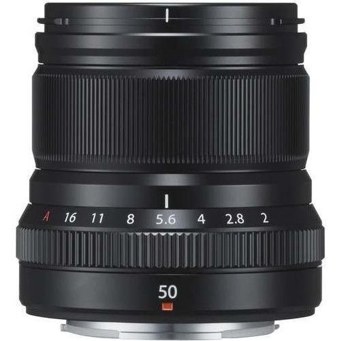 lente fuji fujifilm xf 50mm f/2 r wr -garantia + nf