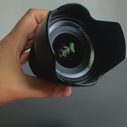lente fujifilm 16mm f 1.4 (caixa, nf e pouco uso)