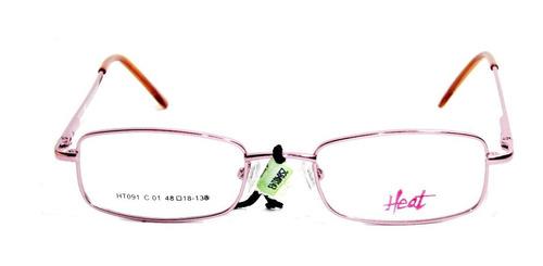 lente gafas anteojo de receta  heat ht 091 óptica mgi