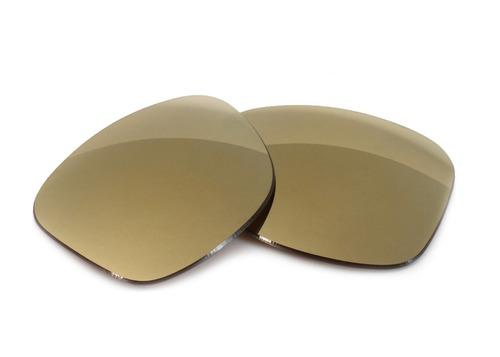 lente gold marrom p/ oakley enduro promoção + brindes