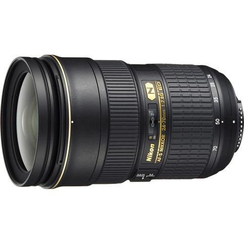 lente gran angular nikon, af-s nikkor 24-70mm f/2.8g ed