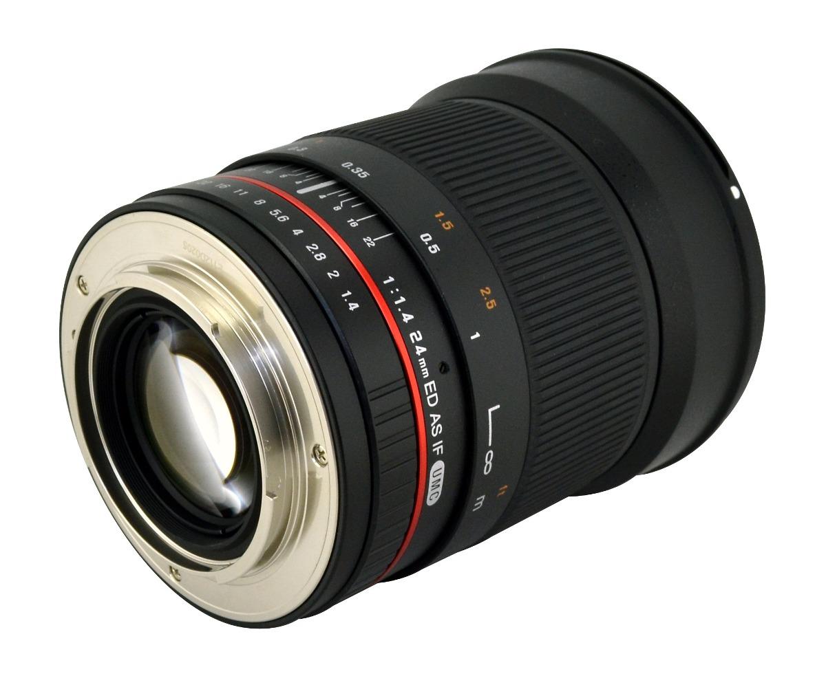 Samyang Sy24m-c 24 Mm F / 1.4 Lente Gran Angular Para Canon ...
