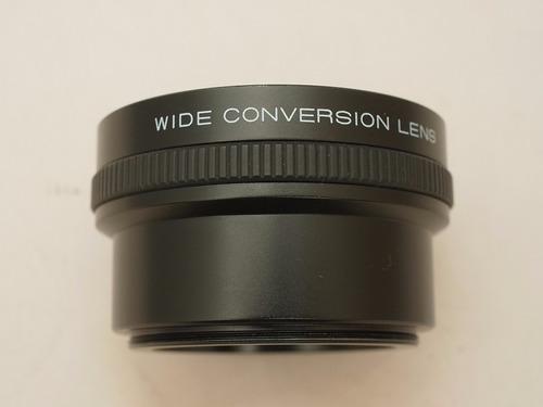 lente grandangular converter 0.8x 49mm canon sony nikon