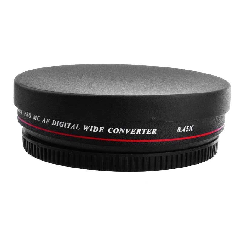 7ca6e3cf1d013 Lente Grande Angular 0,45x Zomei 40.5mm Canon Nikon Sony - R  249,89 ...