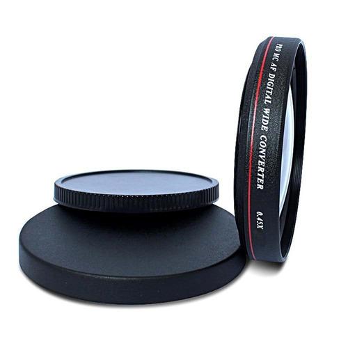 lente grande angular 0,45x zomei 58mm canon nikon sony