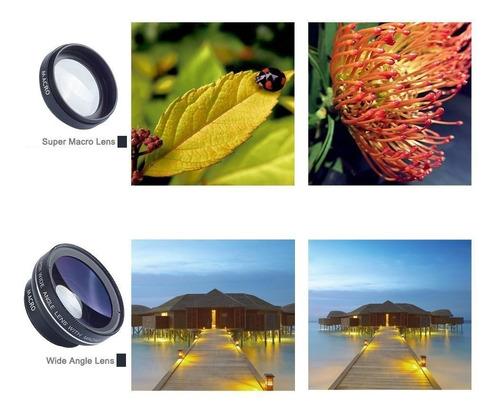 lente grande angular e macro apexel smartphone e iphone +nf